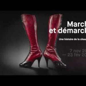 « BIEN DANS SES POMPES »  Marche et Démarche – Une Histoire de la Chaussure